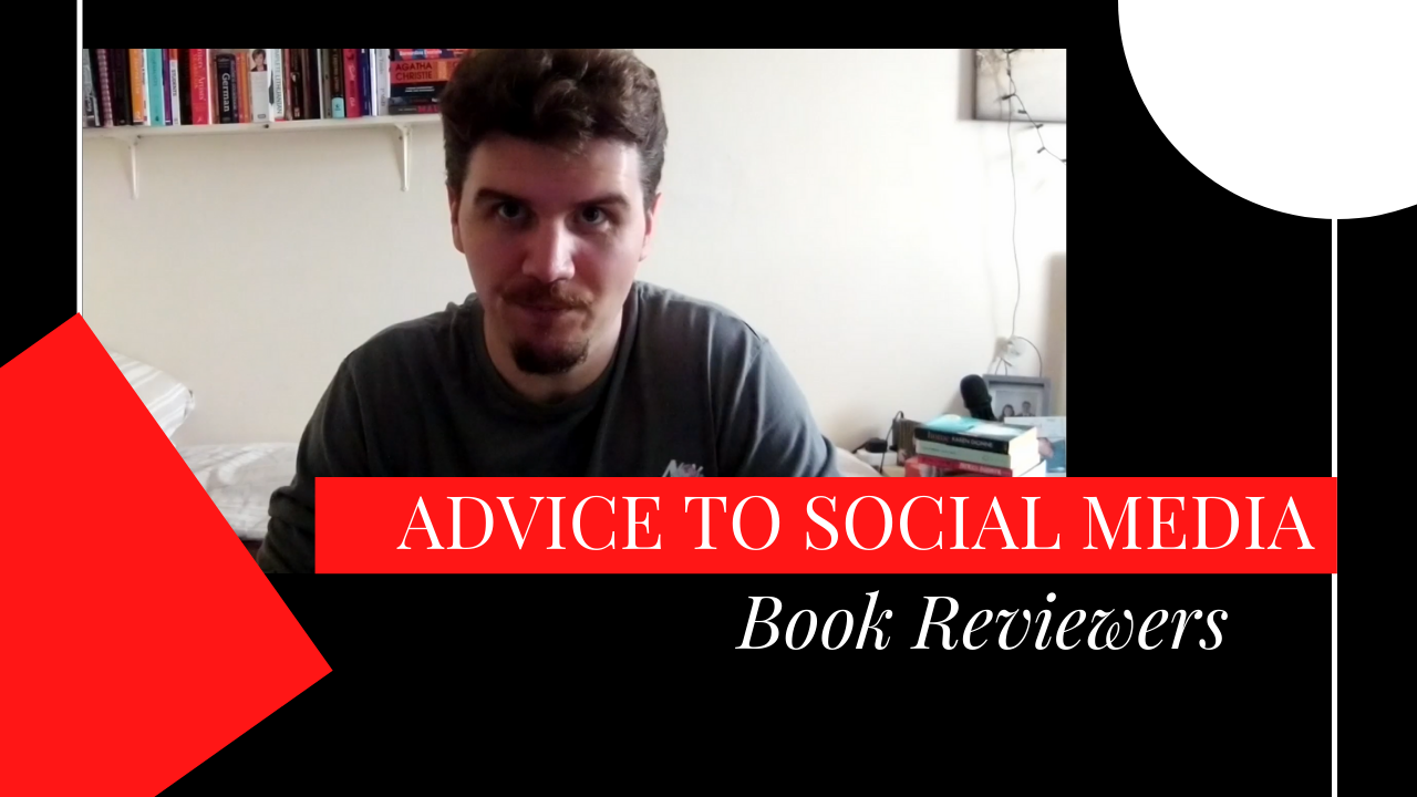 Our latest video is called Advice for Social Media Book Reviewers
